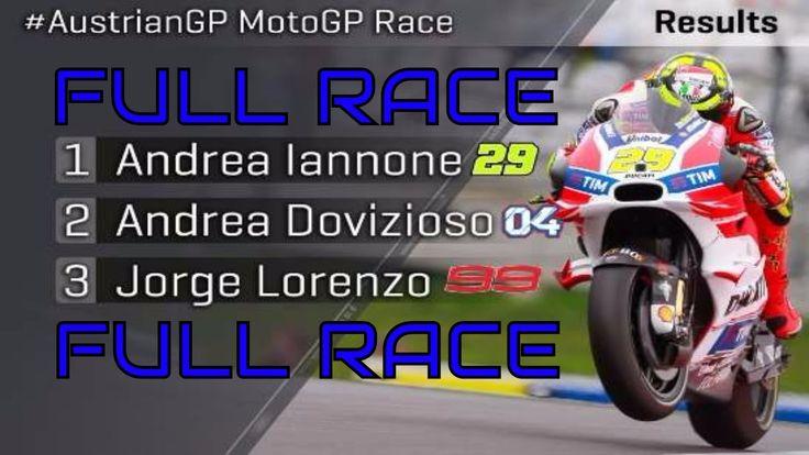 [FULL RACE] MotoGP Austria Red Bull 2016 #AustriaGP #RedBull