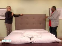 Headboard Craft | Step-by-Step | DIY Craft How To's and Instructions| Martha Stewart