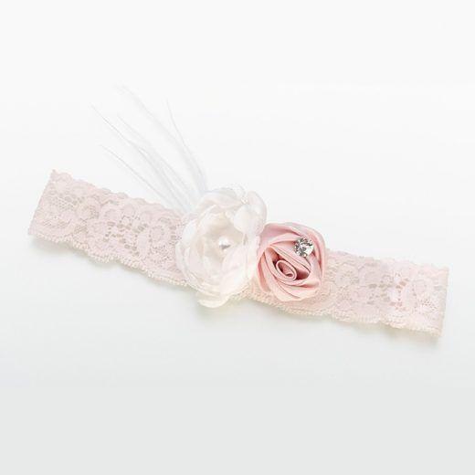 Kousenband vintage flower