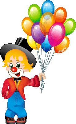 clowns-0107.gif von 123gif.de Download & Grußkartenversand