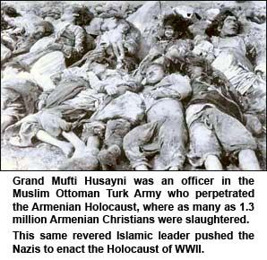 Muslims enacted a holocaust against the Armenian Christians. Never has any compensation or warcrime charges been processed for this. http://www.themuslimissue.com