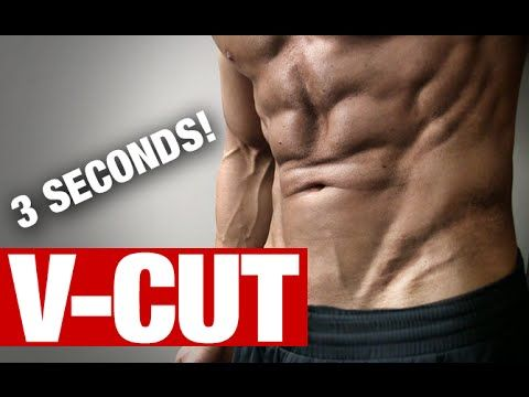 V-Cut Ab Exercises (BETTER IN 3 SECONDS!) - YouTube