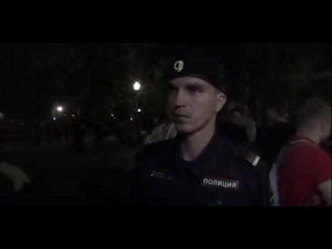 ☑ 3D-В парке все пьют алкоголь, а полиция гуляет .стереопара