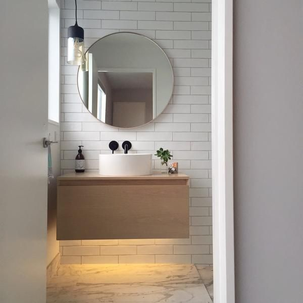 in law suite 25 round bathroom mirror ideas on pinterest minimal