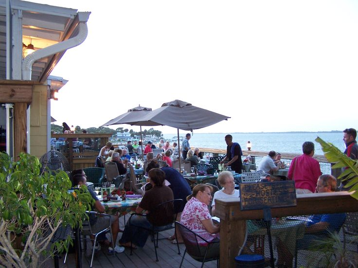 Bonefish Willy's, Melbourne FL - Unassuming Waterfront Place with Great Fresh Fish prepared how you want it and an exceptional view
