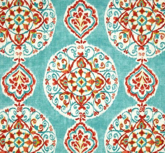 Floor Cushion Linen Mirage Boho Cushion by IslandHomeEmporium
