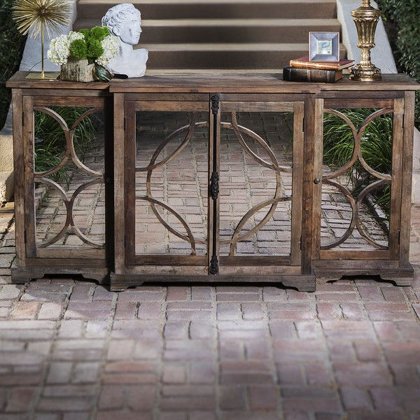 Lacey Mirrored Sideboard 79 x 20d x 38h