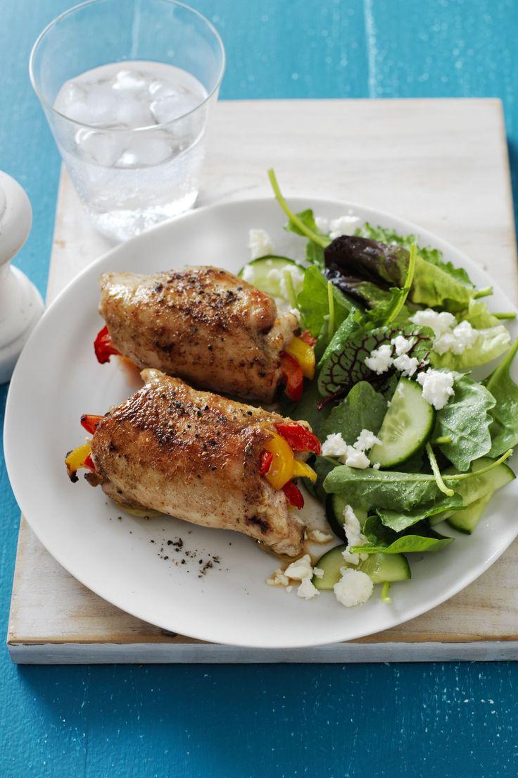 Fajita Chicken Roll-Ups - WomansDay.com