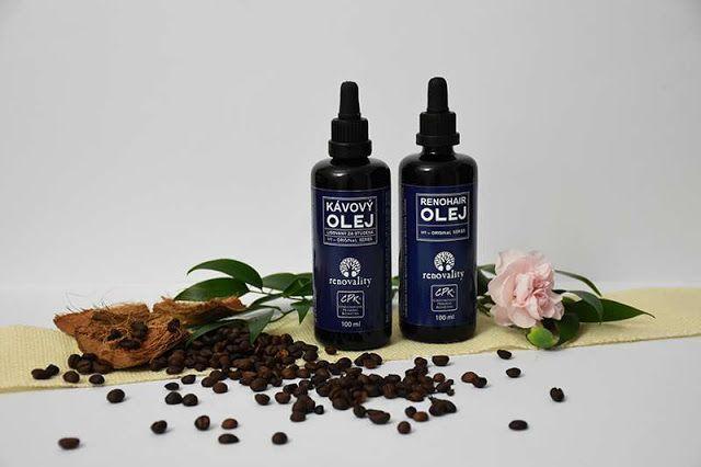 All my cosmetics: Kávový olej a Renohair olej od Renovality