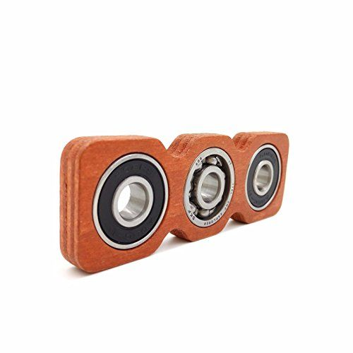 Yomaxer Creative Wooden Fidget Spinner Edc Toy For Adhd A
