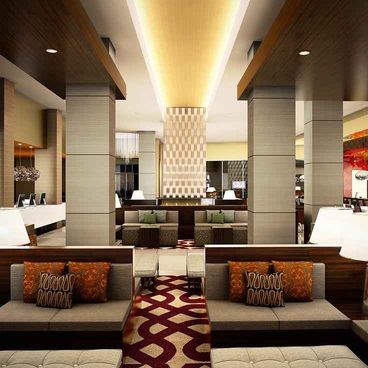 Hotel Lobby   6 Ways Hotel Lobbies Teach Us About Interior Design