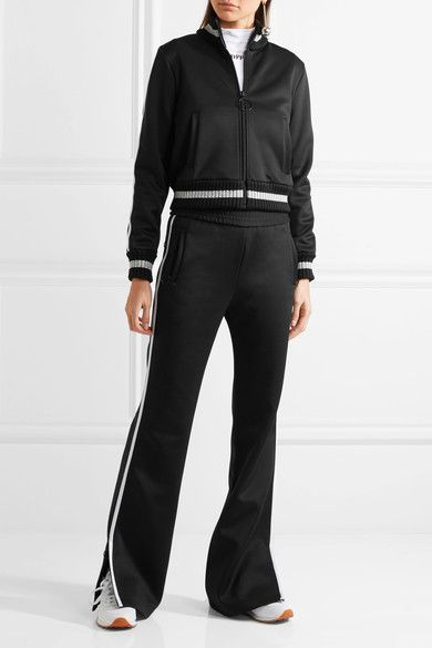 Off-White - Embroidered Neoprene Tracksuit - Black - xx small