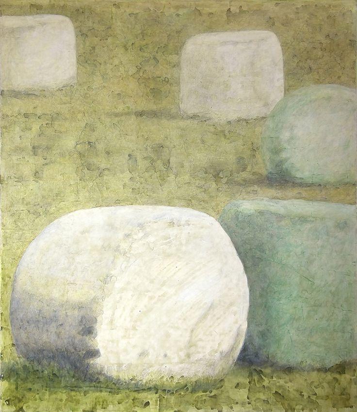 Seija Sainio: Take away, mixed media, 140 x 120cm, 2015