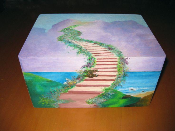 Verso Te - Tempera ad olio su legno (2005)