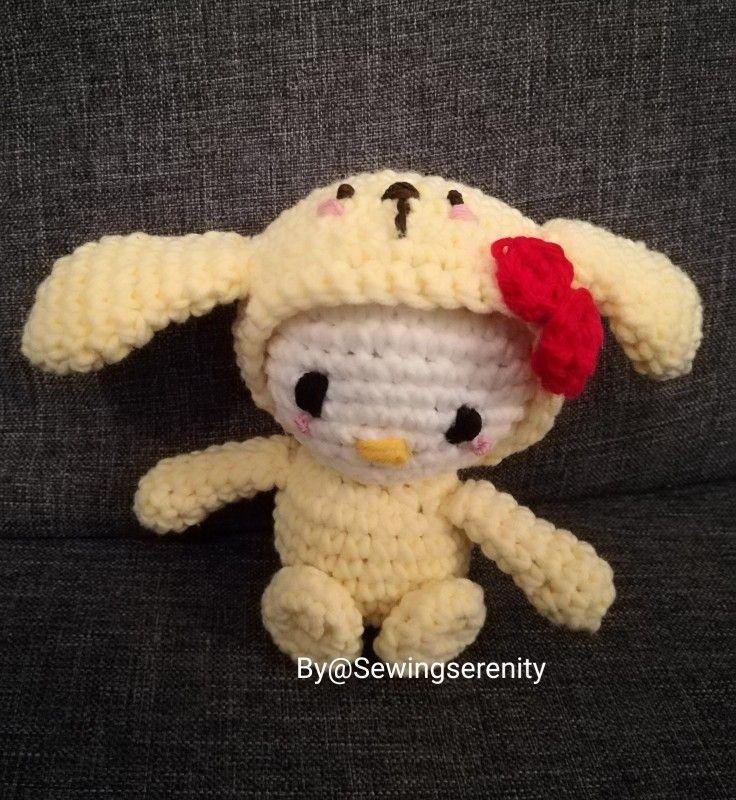 I ❤️ amigurumi Crochet Sanrio characters
