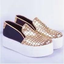 Panchas Panchitas Con Plataforma De Shoes Bayres