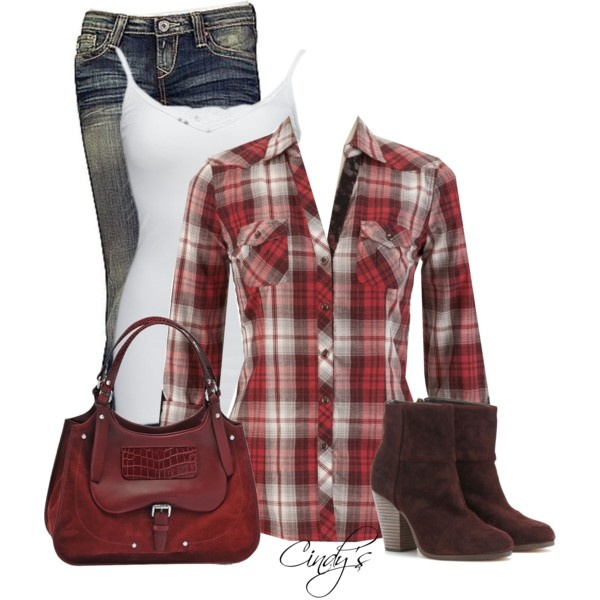 Casual: Cowgirl Boots, Flannels Shirts, Plaid Buttons, Buttons Up, Fashion Style, Embroidered Plaid, Fall Outfit, Plaid Shirts, Cowboys Boots