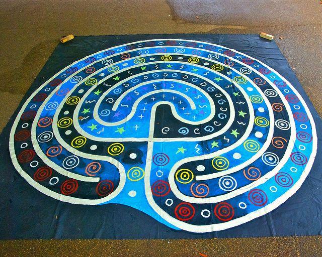 Universal Peace Labyrinth by Sandra Wasko-Flood