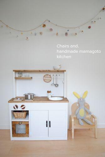 オーダー用「2WAYままごとキッチン」試作品完成しました♡|Chairs and. ナチュラルなインテリアと雑貨と手作りと、日々のこと。
