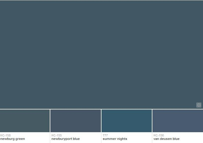 Benjamin Moore In The Midnight Hour 1666 This Colour Is