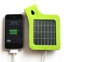 Solarstrap, solar charger for Iphone (and other brands).