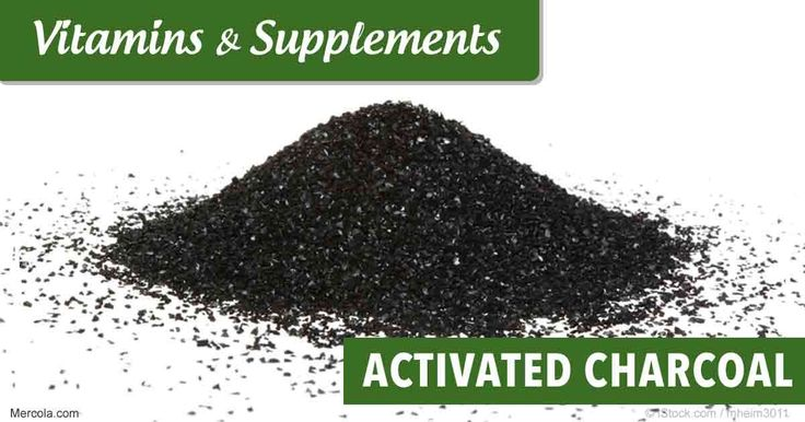 activated charcoal and adult doses