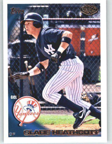 2010 Topps Pro Debut Baseball Card # 77 Slade Heathcott - Gulf Coast (GCL) Yankees - Minor League - Prospect - Rookie Card - MLB Trading Card by Topps. $2.51. 2010 Topps Pro Debut Baseball Card # 77 Slade Heathcott - Gulf Coast (GCL) Yankees - Minor League - Prospect - Rookie Card - MLB Trading Card