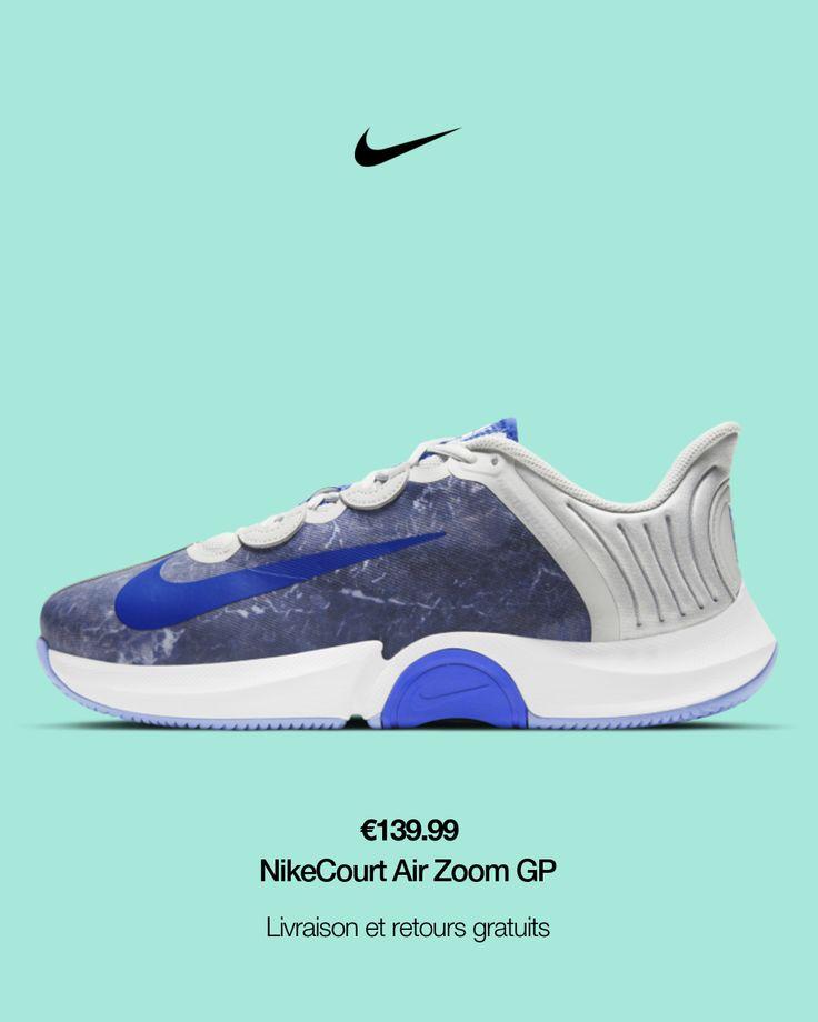 Chaussure de tennis pour surface dure NikeCourt Air Zoom GP Turbo ...