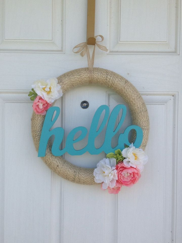 Hello Spring Wreath!