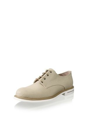 JD Fisk Men's Hardy Oxford (Sand Canvas)