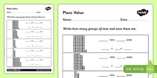 Image result for tens and units worksheets