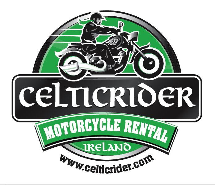 Logo of Celtic Rider, Ireland's only motorcycle rental business located in Ballycoolin, Dublin