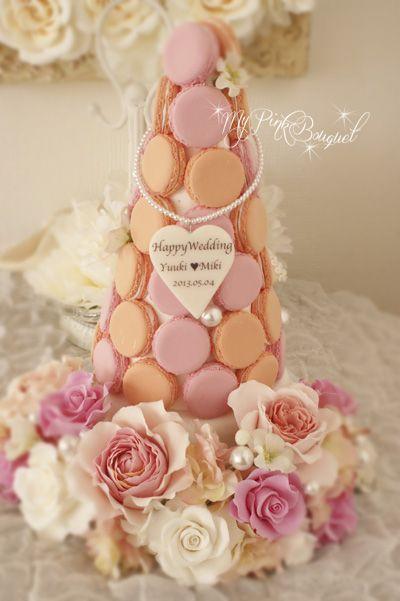 Macaron tree for the wedding reception!