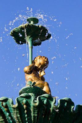 Princess Gardens fountain.