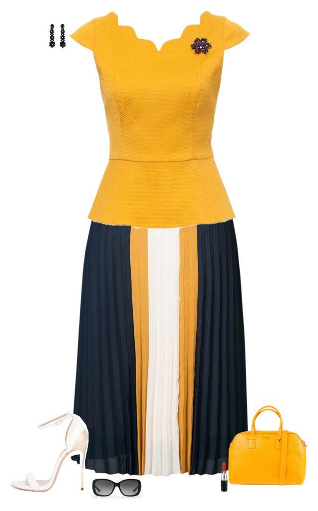 yellow peplum moda pinterest dise o de vest bulo blusas y vestiditos. Black Bedroom Furniture Sets. Home Design Ideas