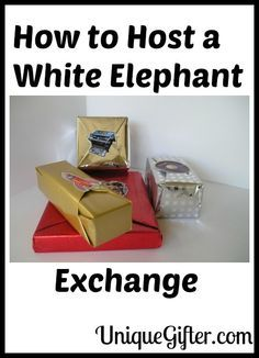 How to Host a White Elephant Exchange