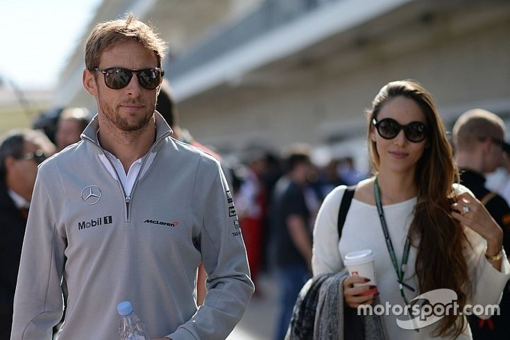 Jenson Button splits with wife Jessica Michibata. Wow, this blew me away.