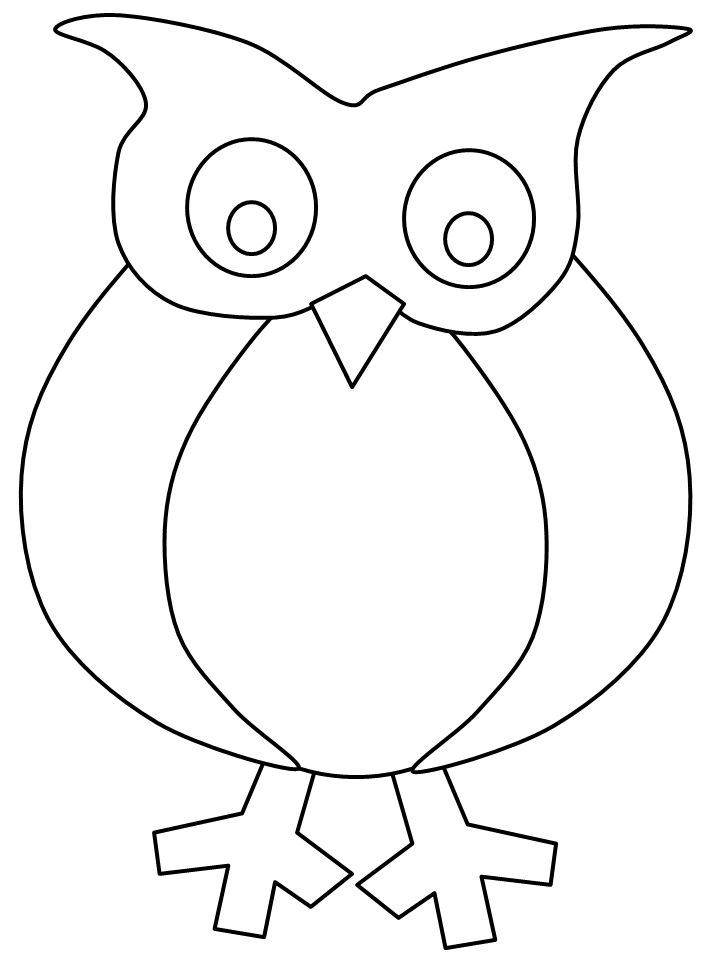 mary poppins coloring pages already colored | owl templates | Free Applique & Embroidery Patterns ...
