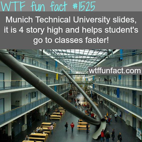 Munich Technical University slides - wtf fun facts