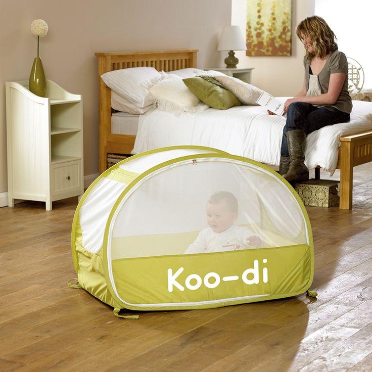 MiniPodróżnik Koo-di Łóżeczko Turystyczne Pop-up Bubble Cot Lime