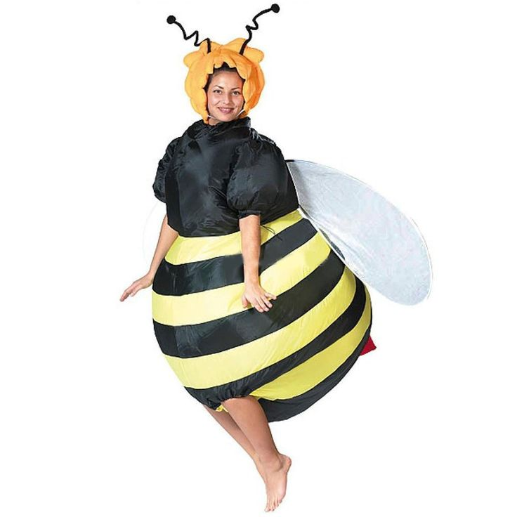 Bumble Bee Costume Inflatable Fancy Dress Outfit Purim Party Bar Club Cosplay Animal Suit Halloween Costumes for Women | Shazishop.com