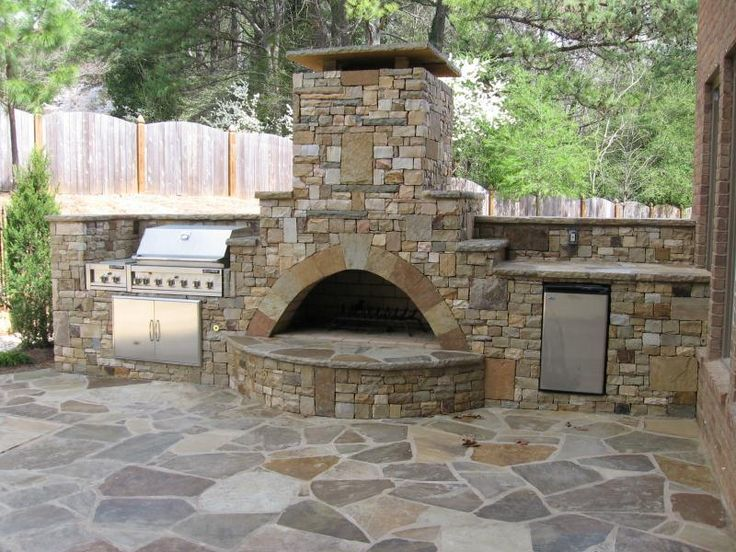 275 best images about outdoor living on pinterest fire for Block outdoor kitchen