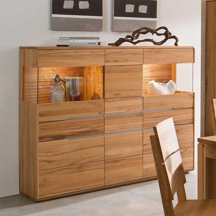 die besten 25 highboard kernbuche ideen auf pinterest highboard massiv highboard massivholz. Black Bedroom Furniture Sets. Home Design Ideas