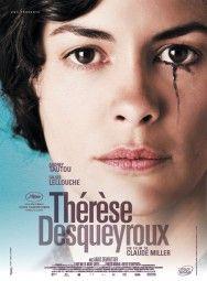 """Thérèse Desqueyroux"" by François Mauriac, adapted into a movie in 2012. Starring: Audrey Tautou, Gilles Lellouche, Anaïs Demoustier"