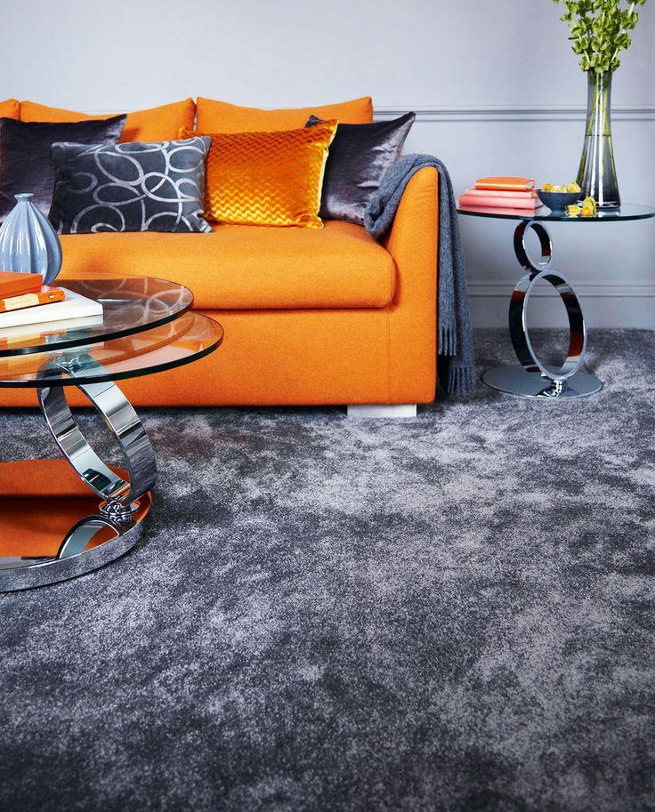 Ковер в интерьере современной гостиной U2013 фото, идеи, правила. White WallsGrey  Carpet Living RoomThe ...