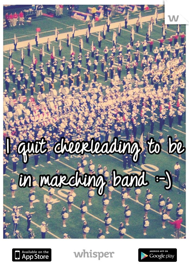 Quality marching band essay?