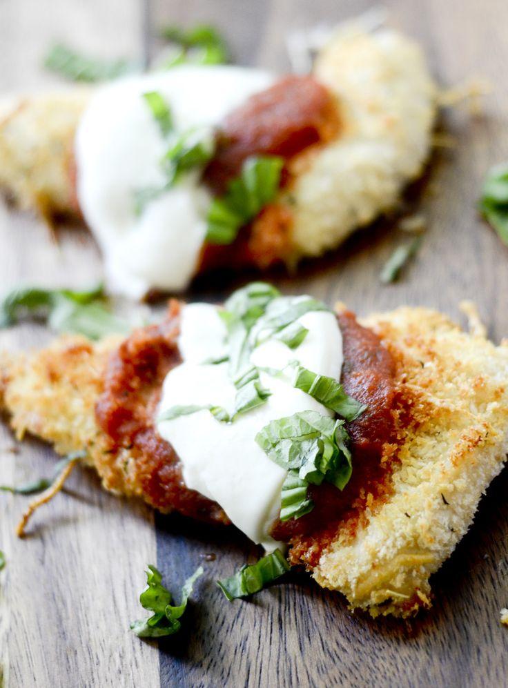 Weight Watcher Recipes - Baked Chicken Parmesan - Recipe Diaries
