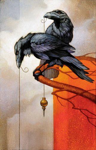 """Crows Ravens:  #Ravens ~ """"Sorcerer's Apprentice,"""" by Craig Kosak."""