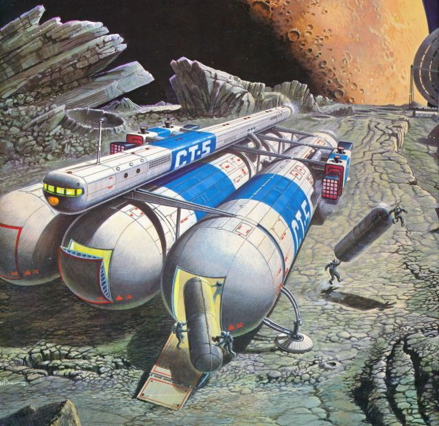 Martinlkennedy Uncredited Painting From The Book World Of Tomorrow