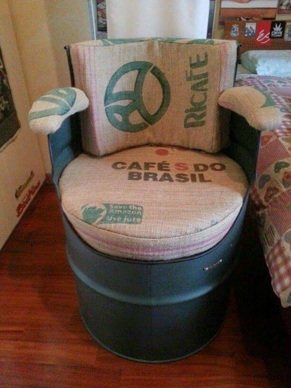 15 Magníficas Ideas para Reciclar Cilindros Metálicos